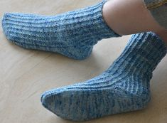 Reverso sock: Knitty First Fall 2014