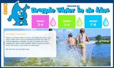 Droppie Water in de klas, :