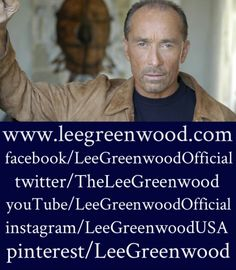 This is where you can find #LeeGreenwood online.