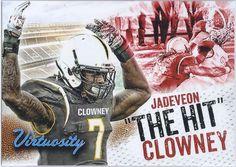 Jadeveon Clowney (Rookie) Houston Texans 2014 Sage Hit Virtuosity Insert card #V-2