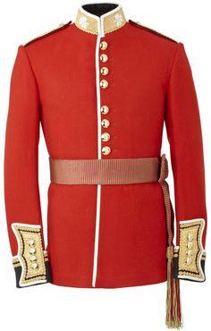 Prince William Irish Guards Uniform (Shining Armor cosplay idea)