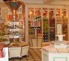 Disneyland Candy Store I shall be visiting this little baby tomorrow evening ;)
