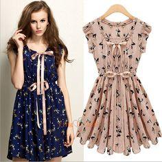 Vestidos casuales floreados 3