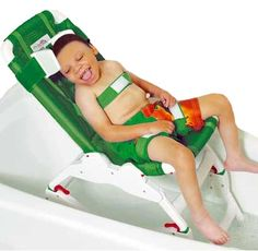 Otter Bathing System is an ideal bathing system that offers comfort, safety and adjustments in both the seat and back for special needs children - eSpecial Needs