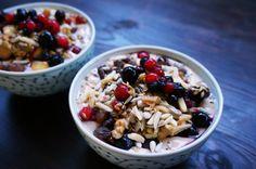 Paleo Frühstücksmüsli - Selbstgemachtes Müsli ohne Getreide mit Früchten