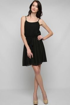 Black Gold Dotted Lani Dress |