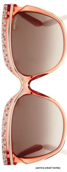 These roses Jimmy Choo shades are amazing. The perfect accessory for any girl this summer Jimmy Choo Sunglasses, Ray Ban Sunglasses, Cool Glasses, Glasses Frames, Bling Bling, Burberry, Gucci, Fashion Eye Glasses, Discount Ray Bans