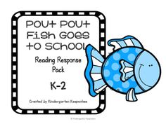 pout pout fish goes to school responsean easy to use response to compliment the book