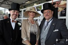Henry de Winter Desiree Nick & Ray Frensham in Morning Dress At A Berlin Horse Race