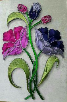 Pin on String Art String Art Templates, String Art Patterns, Nail String Art, String Crafts, Arte Linear, Creation Art, Art Corner, Thread Art, Paper Embroidery