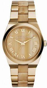 Michael Kors Channing Gold Tone Horne MK6152