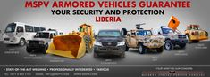Best Armored Vehicles LIBERIA