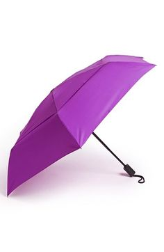 Bright purple umbrella