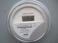 Smart meters look like this.  They have replaced the analog meter that did not have digital displays.