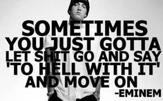 Hate to admit it, but eminem is definitely right on this