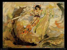 The Sword of Light (1897) by John Duncan
