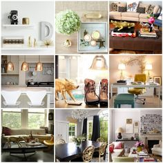 gold home accents #d