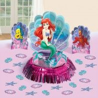 Disney Ariel Little Mermaid Birthday Party Table Decorating Kit Pack), Multi Color. Little Mermaid Balloon Decorations, Mermaid Table Decorations, Mermaid Balloons, Little Mermaid Birthday, Little Mermaid Parties, Ariel The Little Mermaid, Birthday Party Tables, Birthday Party Decorations, 4th Birthday