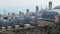 Cami, Çatı Kubbe, Istanbul, Türkiye