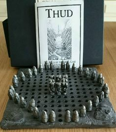 Thud Board Game Travel Version Boxed From Terry Pratchett'S Discworld | eBay
