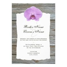 This DealsWedding Invite Purple Orchid & Barnwoodwe are given they also recommend where is the best to buy