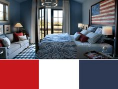 Decorate Your Home With Team-Inspired Color Palettes | HGTV Decorating Tips, Decorating Your Home, Professional Football Teams, Framed Jersey, Porch Welcome Sign, Hgtv, Color Palettes, Assassins Creed, Inspired