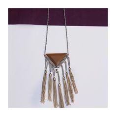 Para aquelas que amam franjas, colar boho para balançar o ❤️! #fashion #moda #acessorios #shoponline #NomadSoul  #lojabySiS  www.lojabysis.com.br