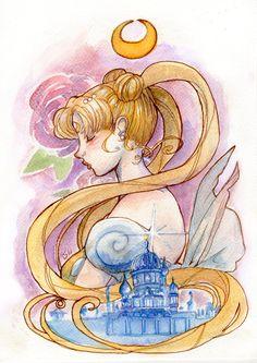 Princess of the Moon Kingdom by fiorellasantana.deviantart.com on @DeviantArt