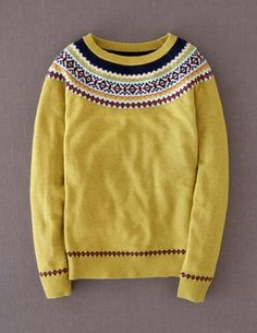 Fair Isle Yoke Jumper