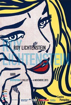 Rétrospective Roy Lichtenstein  Paris, Centre Georges Pompidou  3 juillet - 4 novembre 2013  L'exposition revient sur l'œuvre de cette figure emblématique du pop art américain ; travail inspiré de l'imagerie populaire, de la publicité aux bandes dessinées.