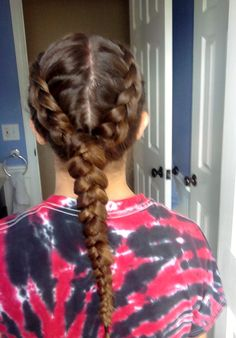 Sport hairstyle