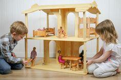 Dollhouse Toys, Wooden Dollhouse, Barbie Furniture, Dollhouse Furniture, Eco Friendly Toys, Popular Toys, Barbie House, Play Houses, Handmade Toys