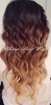 Ombre 1B 33 Hair Color | hair weaving three tone ombre 1b/33/27 color, View 1b/33/27 color ...