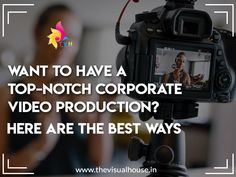 Want To Have A Top-Notch Corporate Video Production? Here Are The Best Ways Create A Company, Corporate Social Responsibility, In And Out Movie, Pre Production, Thought Process, You Videos, Personal Branding, Social Media Marketing, Documentaries