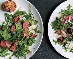 Grilled Steak with Baby Arugula and Parmesan Salad ‹ Hello Healthy