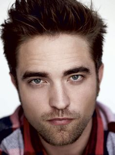 Robert Pattinson: because he's Edward Cullen, and because all Brits should look that good