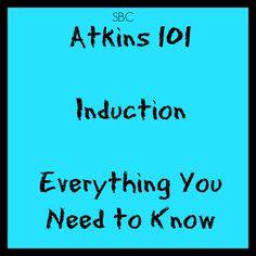 Atkins 101 INDUCTION