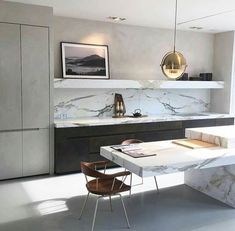 So I'm a complete super fan of Joseph Dirand. His work is just so chic and elegant and I love his classic yet minimalist style. Kitchen Inspirations, Joseph Dirand, Rustic Kitchen Design, Simple Kitchen, Kitchen Styling, Interior, Kitchen Design, Contemporary Kitchen, Rustic Kitchen