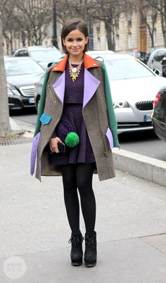 Streetstyle in Paris, by Stephanie Chibon of