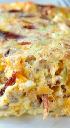 Southwest Egg Bake (Southern breakfast, dinner recipes)