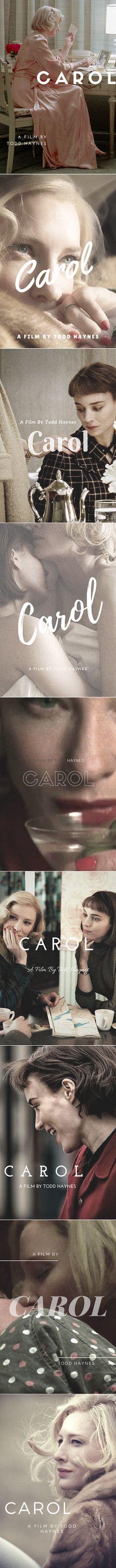 Alternative Movie Posters for Carol (2015)