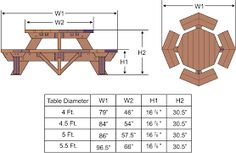 Image result for octagonal table
