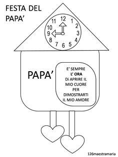 Guarda tutti i biglietti per la festa del pap da stampare for Immagini festa del papa da colorare