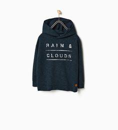 """RAIN & CLOUDS"" SWEATSHIRT"