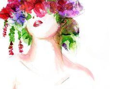 "Fashion Editorial Illustrations @Behance portfolio: ""Summer Florals Fashion Illustration"" http://on.be.net/1JlsQCK"