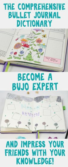 Bullet Journal Inspiration - Impress your friends with your bullet journal expertise! This article will help you learn everything you need to know about bullet journals and more! Ideas and information about different layouts, trackers, and other helpful d