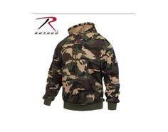 Rothco Woodland Camo Performance Pullover Sweatshirt   Vermont's Barre Army Navy Store