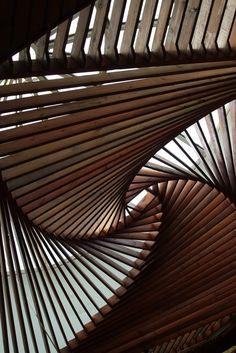 Ceiling at the Museum of Anatolian Civilisations - Ankara, Turkey #architecture