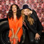 The two Knowles sister were seen wining and dining with Mama Tina, her boo thang actor Richard Lawson, and Alan Ferguson, maybe celebrating Beyonce's new Topshop deal. Great to see Solange and Beyonce accepting Richard into the family. But, noticeably missing is Queens Bey man, Hova. Wonder if he's still bitter towards Solange for kicking his you-know-what.