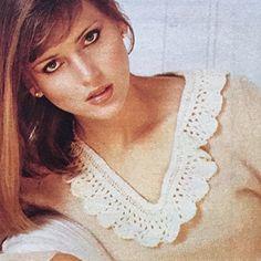 Met kant om die hals Om, Crochet Necklace, Jewelry, Fashion, Moda, Jewlery, Jewerly, Fashion Styles, Schmuck